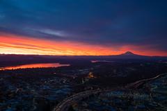 DSC02528 (www.mikereidphotography.com) Tags: sunrise seattle skyviewobservatory rainier 85mm 200mm 1635mm mirrorless sony canon
