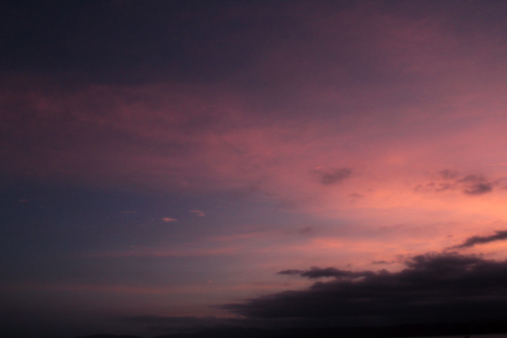 dreamy sky at sunset - photo #12