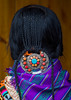 Nyingma tibetan nomad wearing a silver and coral plaque in her braided hair, Gansu province, Labrang, China (Eric Lafforgue) Tags: adorned amdo asia asian braidedhair buddhism china china17463 colorful colourimage decorated decorating decoration ethnic garment hair jewel jewellery jewlery labrang minority nomad nomadic nyingma oneadultonly onepersononly onewomanonly ornament ornamental ornate ornated rearview tibet tibetan traditionalclothing turquoise unrecognizablepeople vertical women worldtravel xiahecounty gansuprovince chn