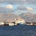 """Cruise ship """"Med Queen"""" at the port of Agios Nikolaos"""