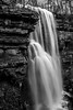 Picnic at the Virgin Falls (Jon Ariel) Tags: virginfalls tn tennessee waterfall bw blackandwhite whitecounty