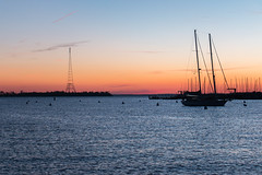 IMG_7074 (Fozzybeers) Tags: annapolis annapolismd maryland sail dawn sailboat sailboats coast water sunrise bay chesapeake yacht yachts sky