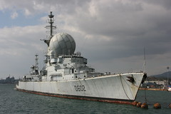 07105_089 FNS Suffren (Air Sea Media) Tags: warship destroyer radar radome france navy suffren d602 toulon
