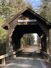 Swamp Meadow Covered Bridge (Rick Payette) Tags: iphone8plus swampmeadow coveredbridge foster rhodeisland
