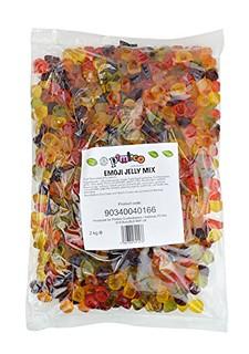 Pimlico Confectioners Fizzy Fruit Jelly Sweets - natural colours - fruit juice added - HMC UK Halal - 2kg bulk bag