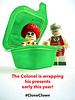 The Colonel's surprise (tim constable) Tags: xmas christmas present surprise mcdonalds kfc cloneclown clown fastfood fastfoodturfwar zombie colonelsanders hidden lego minifigure minifig legominifigure toyphotography legophotography tabletopphotography huawei huaweip10lite smartphonepics smartphonephotography