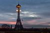 An illuminated one (julialarrigue) Tags: eiffeltower paris france sunrise lights