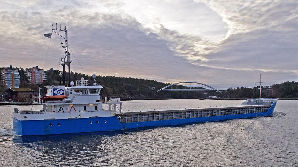 00fd8414cdce The cargo ship Prima Celina in Stockholm (Franz Airiman) Tags:  primashipping primacelina lastfartyg