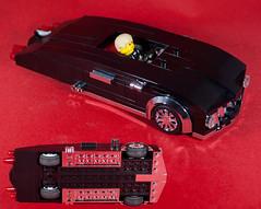 Swinger 7 Open-Chassis (EliteGuard01) Tags: lego ldd legodigitaldesigner swinger7 car customparts custom chrome lowrider cruiser leadsled 1950s american coupe 7studwide sideexhaust bricklink redbackground moc