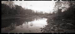 Cheat River Inlet (Pinhole) (DRCPhoto) Tags: zeroimage612b pinhole lenslessphotography kodakbw400cn 120film cheatriver westvirginia