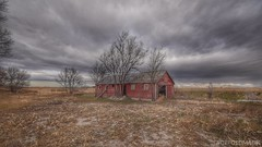 (CTfotomagik) Tags: field landscape building farm decay weathered rural crusty nikon wide angle sky weld county countryside agriculture colorado overcast mood perspective atmosphere 1020mm abandoned neglected tree elm american northerncolorado