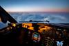 Sunset 34,000 feet above France (gc232) Tags: sunset34 000feetabovefrance samyang 20mm f18 canon 6d cockpit bokeh sunset boeing livefromtheflightdeck golfcharlie232 phone wallpaper 1080p