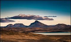 Þórístindur from the F208 (niggyl (well behind)) Tags: þórístindur krókslón hydroelectric manmadelake sigalda hills f208 iceland ísland southiceland suðurland icelandiclandscape landscapeiceland volcano volcanic volcanicwasteland fujifilm fujixpro2 fujifilmxpro2 xpro2 fuji fujinon fujinonxf55200 xf55200mmf3548rlmois xf55200mmf3548 xf55200f3548 xf55200 breathtakinglandscapes midatlanticridge tectonicplateboundary
