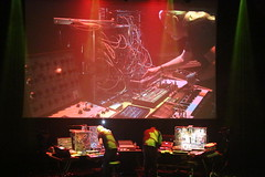 Ian Boddy & Nigel Mulaney live at the Capstone Theatre Liverpool 18/11/17 (kitmasterbloke) Tags: synthesizer analogue moog ams capstone liverpool music electronic dance gig concert live band show uk indoor ianboddy nigelmulaney dinrecords
