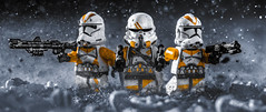 7th Sky Corps (Lego_LUTs) Tags: takodana yellow purple green blue storm trooper star wars war lego outdoors clone troopers first order blasters afol minifigs minifigures bricks blocks canon toy toys force legos t3i republic people photoadd atst death rogue one dirt practical effects orange 60mm darth maul battlefront tree 7th sky corps