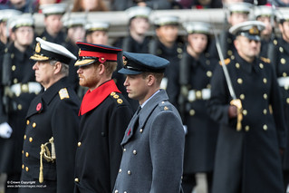 National Service of Remembrance held at the Cenotaph in Whitehall
