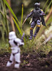 Bobba vs Trooper (jezbags) Tags: sh figuarts stormtrooper vs mafex boba fett starwars stormtroopers troopers trooper bandai battle canon60d canon 60d 100mm closeup upclose practical effects guns explosion dirt macro macrophotography macrodreams actionfigure
