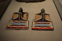 Chicago, IL - Grant Park - Field Museum - Crow Stirrups (jrozwado) Tags: northamerica usa illinois chicago museum fieldmuseum naturalhistory grantpark nativeamerican ethnography crow stirrup beadwork