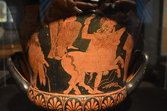 Chicago, IL - Grant Park - Field Museum - Ancient Mediterranean Cultures in Contact - Greek Mixing Vessel (Krater) from Etruria (jrozwado) Tags: northamerica usa illinois chicago museum fieldmuseum naturalhistory grantpark krater etruscan