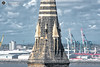 An overview of things. (alundisleyimages@gmail.com) Tags: landscape church docks containerterminal seaforth newbrighton cranes industriallandscape portsandharbours highriseflats windturbines wavebrerakers rivermersey northwestengland architecture stonework religion weather clouds vista city