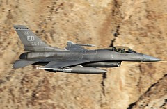 Speedy Gonzales (Dafydd RJ Phillips) Tags: ed547 edwards afb base air force california death valley rainbow canyon star wars jedi transition low level military aviation f16 falcon