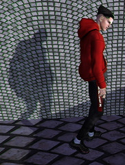 I am just an icon living. (Levi Megadon // *OMG*) Tags: sl men mens blog blogger cool lotd look outfit clothing clothes mesh new stylish style beusame hair beanie complex hoodie joggers comingsoon exclusive fli bluprint sneakers kicks event mom menonlymonthly