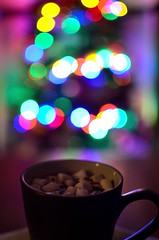 P52 Week 49 | Cosy (Steph*Powell) Tags: christmas bokeh hotchocolate cocoa 35mm nikond5100