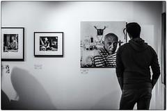 Doisneau, Picasso et l'inconnu ! (bertranddorel) Tags: human picasso doisneau exposition photos blackandwhite noiretblanc bw nb musée art artiste museum bn nikon peintre photographe bruxelles capitale europe city