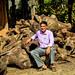 Krishna Gautam, the owner of the Trishakti Sawmill in Nawalparasi district, Nepal