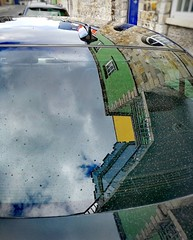 My daily Reflection, today Dublin reflected on a car ... Good night! .  #HuaweiP10 #HuaweiP10plus #OO #Snapseed #descubreirlanda (luisonrh) Tags: carretera road auto coche car reflection reflejo arquitectura architecture colors colores mobile mobilephotography huawei huaweip10 huaweip10plus dublin digital documentary