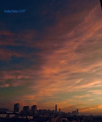 SF Sunrise (Walker Dukes) Tags: west sanfrancisco california vista view urban clouds pink orange skyline sky blue