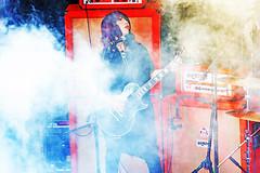 Happy Birthday, Wata! (kirstiecat) Tags: boris band psychedelic music concert smoke cinematic metal color female woman performer bassist musician singer japanese japaneseband