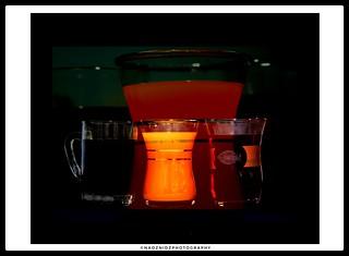 coffee juice or tea
