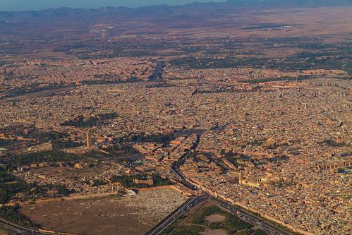 Marrakech von oben
