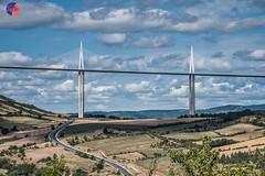 Millau's bridge (symartin44) Tags: millau bridge cloud sky