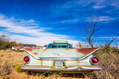 Simple Man (Thomas Hawk) Tags: america buick newmexico route66 usa unitedstates unitedstatesofamerica abandoned auto automobile car junkyard fav10 fav25 fav50 fav100