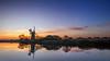 Sunset at How Hill (Geoffrey Tibbenham) Tags: sunset sky landscape light outdoors openspace shadow reflection reedbed river windmill pump trees ant xt1 12mm ziess touit norfolk broads