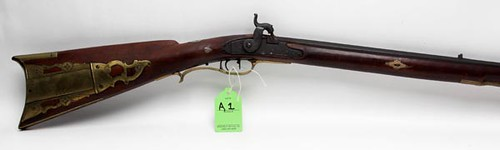 Rare Kentucky Long Rifle by John Armstrong from Emmitsburg, MD ($8,400.00)