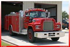 "1985 Mack R / Saulsbury ""Belle Chasse Volunteer Fire Department"" (uslovig) Tags: 1985 mack r saulsbury belle chasse volunteer fire department district no 2 plaquemines parish louisiana la usa truck feuerwehr"