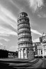 Leaning Tower of Pisa (life of nomad) Tags: leaning tower pisa campanile monument antique medieval mediterranean italy italia eu ue european union europe famous landmark landmarks bell cathedral cathedra europa marble marbles sky grass stones blue green grey light foundation settlement tilt renaissance outside known outdoor structure architecture building wellknown black white bw wojciech lelek wojciechlelek