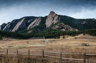 Colorado Flatiron Mountains