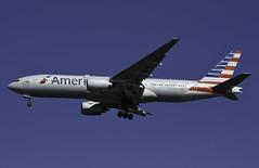 N751AN1 (MAB757200) Tags: americanairlines aa b777233er n751an americanairlinessalutesazrielalblackmanon75yearsofservice aircraft airplane airlines jetliner jfk kjfk runway31r boeing