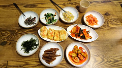 Korean appetizer (MelindaChan ^..^) Tags: busan skorea 釜山 food eat snack chanmelmel mel melinda melindachan appetizer meal dinner lunch korean