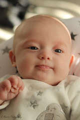 A chilled Ava (RyanMorris_Photography) Tags: gorgeous beautiful daughter cute elements baby newborn portrait eyes smile bubbles canon photography 50mmlens babyphotography girl ava reflection