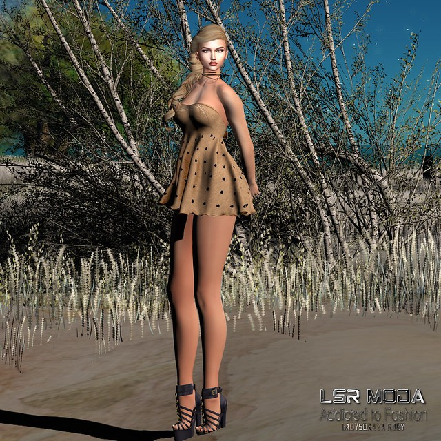 [ LsR ] - Sexy Shanty Knit Dress
