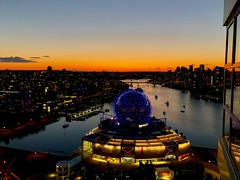 Night time shot captured with iPhone X (JJH90) Tags: sunset canada britishcolumbia bc vancouver x iphonex iphone scienceworld