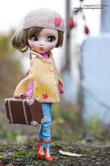 Cassie (enigma02211) Tags: pullip dollphotography fashiondoll cassiepullip cassie outdoor fashion fashionista grooveinc 16scale nature