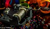macro Mondays Members Choice- Musical Instruments EXPLORED (Carolynn McMillan) Tags: hurdygurdy macromondays memberschoice musicalinstruments silver celebrations happybirthday