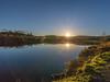 Lochan Reoidhte Sunset (Mac ind Óg) Tags: loch autumn achrayforest landscape sunset reflection queenelizabethforestpark lochlomondandthetrossachsnationalpark lochanreoidhte sun walking scotland aberfoyle