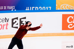 Vincent Zhou (asveri) Tags: figureskating isufigureskating skating practice gpfrance grandprix ifp2017 internationauxdefrance